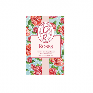Greenleaf Small Scented Sachet - Roses